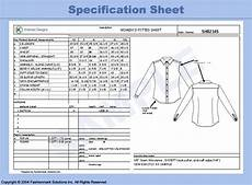 specification sheet specification sheets fashion industry network