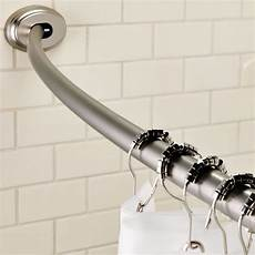 Smart Rod Curved Tension Shower Curtain Rod