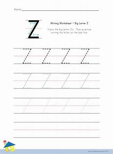 letter z handwriting worksheets 24265 the learning site