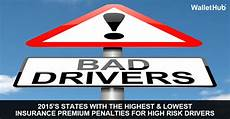 lowest car insurance for drivers 2015 s states with the highest lowest insurance premium