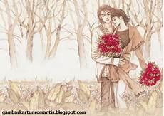 Gambar Kartun Romantis Gambar Kartun