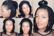how to style bob braids youtube