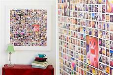 Fotocollage Auf Leinwand - instagram canvas collage template for photoshop indesign