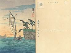 japan postcard template shotei sh 244 bid 244