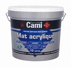 Cami Peinture Mat Acrylique Blanc 10 Litres 0977