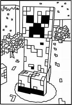 Minecraft Malvorlagen Pc Minecraft Coloring Pages Free Printable Minecraft Pdf