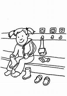 kostenlose malvorlage rund ums spielen im kindergarten