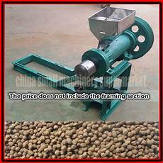 factory direct sale low price puffed fish feed extruder fish feed pellet making machine