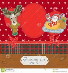 scrapbooking photoframe merry christmas stock vector illustration of decoration christmas