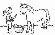 Ausmalbilder Bauernhof Pferde Ausmalbilder F 252 R M 228 Dchen Zum Ausdrucken 1ausmalbilder