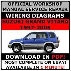 service repair manual free download 2002 suzuki grand vitara head up display buy suzuki car service repair manuals ebay