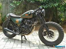 Motor Modif Dijual by Dijual Yamaha Scorpio Modif Caferacer Gahar Motor