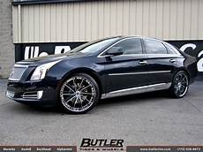 cadillac xts with 22in asanti cx193 wheels exclusively