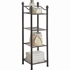Bathroom Shelves Wayfair by Free Standing Bathroom Shelving You Ll Wayfair