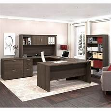 home office suite furniture set logan 5 piece home office suite by bestar with images