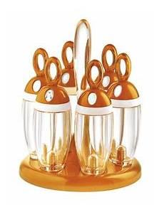 portaspezie foppapedretti guzzini portaspezie girevole arancio accessori