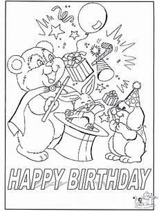 Gratis Malvorlagen Happy Birthday Gratuliere 7 Malvorlagen Geburtstag