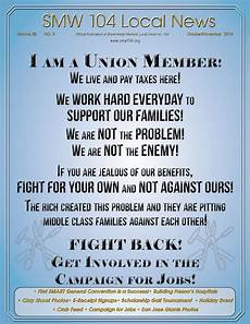 sheet metal workers local 104 october november 2014 newsletter by sheet metal local 104 issuu