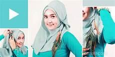 Waton Njeplak Cara Memakai Jilbab Segi Empat Kontemporer