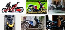Modifikasi Motor Beat 2014 by Gambar Modifikasi Motor Honda Beat Fi Standar Merah Putih