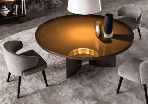 The Morgan Round Dining Table, Minotti