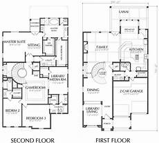 a two storey house plan unique two story house plan floor plans for large 2 story