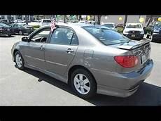 2004 Toyota Corolla S Sedan 4d Los Angeles Ca 421842