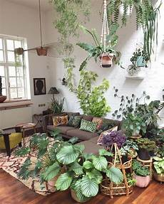 Living Room Home Decor Ideas With Plants by Green Living Spaces Indoor Plants Vintage Furniture