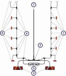 led autols trailer lights harness system uk trailer parts
