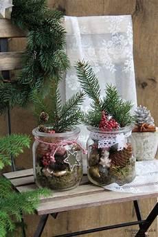 weihnachtliche deko im glas weihnachten vintage total weihnachten vintage