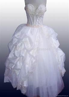 sweetheart neck strapless organza beaded bodice wedding