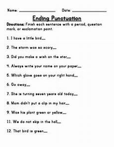 punctuation worksheets class 2 20728 1000 images about el vaap on punctuation worksheets and reading resources