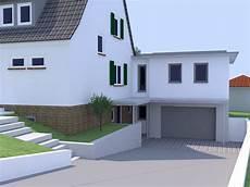 wohnraum über garage architekt manfred lincke anbau in borken