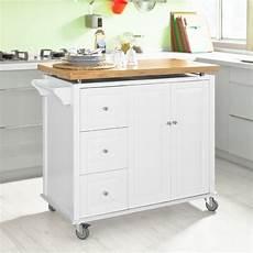 küchenschrank mit arbeitsplatte sobuy neu luxus k 252 chenwagen arbeitsplatte aus hochwertigem bambus k 252 cheninsel k 252 chenschrank