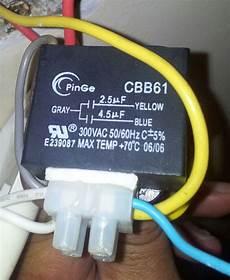 capacitor ventilador de techo funciona lento airea condicionado