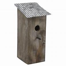 nichoir oiseau toit zinc