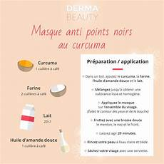 Masque Anti Points Noirs Au Curcuma Dermabeauty Fr