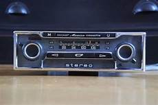 becker mexico vollstereo cassette classic car radio with