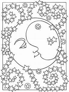 Ausmalbilder Planeten Sterne Sterne Malvorlagen Zum Ausdrucken