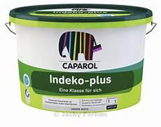 caparol wandfarbe indeko plus indeko plus muurverf voor