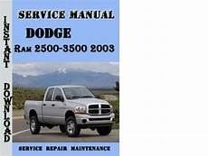 service repair manual free download 2003 dodge ram van 3500 navigation system dodge ram 2500 3500 2003 service repair manual tradebit