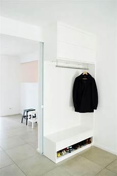 ikea hack eine flur garderobe mir schubf 228 chern und