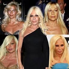 Jungs Malvorlagen Versace Donatella Versace Ihr Aussehen Fr 252 Und Heute Stylebook