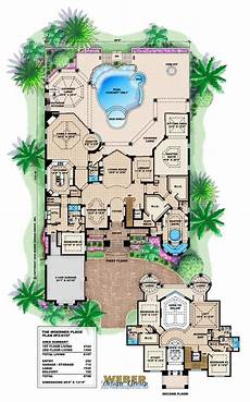 mediterranean house plans with pool mediterranean house plan luxury mediterranean beach home