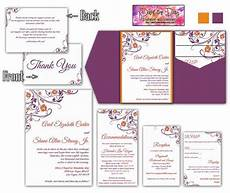 Wedding Invitation Inserts Template