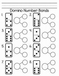 domino number bonds dominoes kindergarten math math numbers kindergarten
