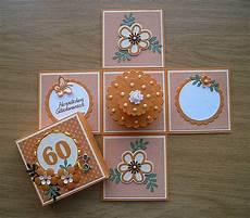 Geburtstagskarte 60 Basteln - dickchens bastelchaos box zum 60 geburtstag