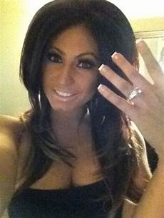 tracy from jerseylicious showing off her engagement ring tracy dimarco pinterest