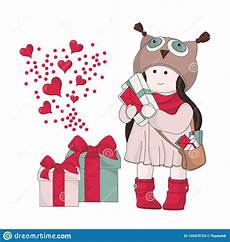 merry christmas color vector illustration christmas gifts stock illustration illustration
