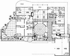spanish revival house plans with courtyards plan 81360w sprawling southwestern ranch home spanish